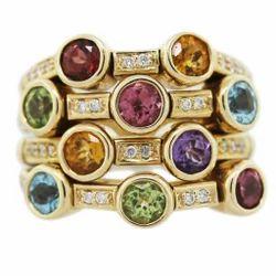 Semi Precious Stone Ring