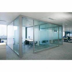 Slimline Glass Partition