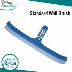 Plastic Blue Swimming Pool Wall Brush, Size: 10 & 18 inch