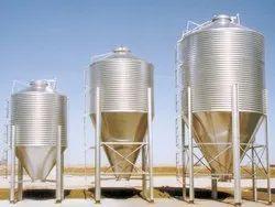 Round Vertical Storage Bins