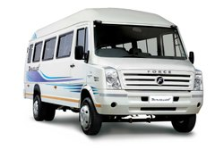 Tempo Traveler Rental Service, Music System, Seating Capacity: 18 Seater