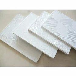 Laminated Gypsum Ceiling Tiles