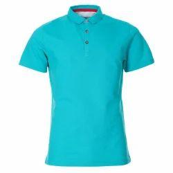 Large Cotton Mens Polo Neck T Shirt