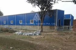 A Type Paint Coated Pre-Fabricated Industrial Steel- Building