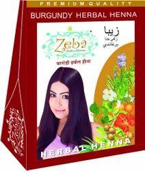 Burgundy Herbal Henna Mehndi Powder