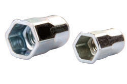 Small Half Hex Rivet Nut