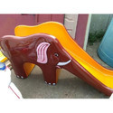 Fiber Elephant Slide