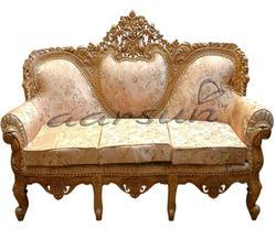 Aarsun Woods Handcrafted Wooden Sofa Set