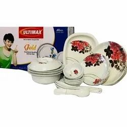Ultimax Gold Dinner Set