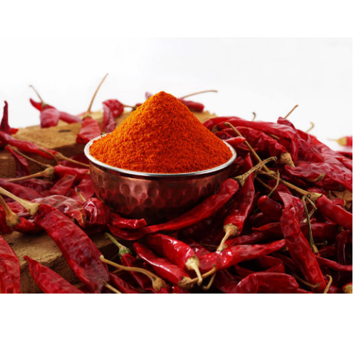 Asian Star Powder Extra Red Mild Kashmir Chilly, 500 Gram, Packaging Type  Available: Packets, Rs 104 /kg   ID: 9463974397