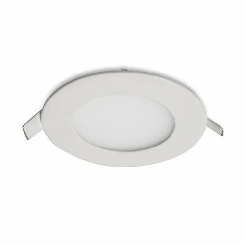 Cool White Ncore 6 Watt Led Panel Light Shape Round Rs 250 Piece