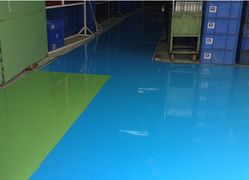 Colored Epoxy Flooring Service