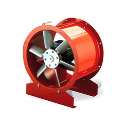 Axial Flow Fans with Grp Blades