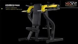 Gym Equipment Iron SHOULDER PRESS, Size: Standard, Model Name/Number: Neofit