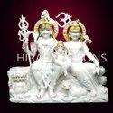 Marble Shiv Pariwar Statue