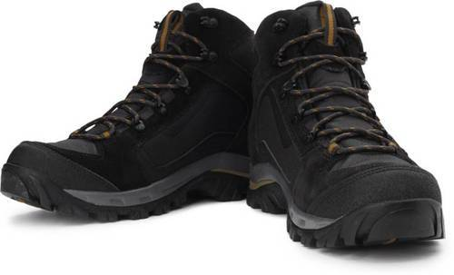c26dbe103ea10 Black Trekking Shoes, Size: 6 And 10, Rs 2500 /pair, Akkey Chinu ...