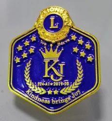 Lions Club Lapel Pin
