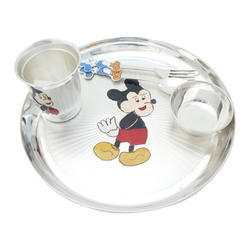 Mickey Mouse Plate Set at Rs 15000 /set | Kalbadevi | Mumbai | ID 14728508830  sc 1 st  IndiaMART : mickey mouse dinnerware set - pezcame.com