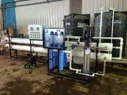 Semi Automatic Industrial RO Plant