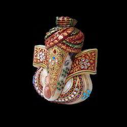 Marble Ganesh Pagdi
