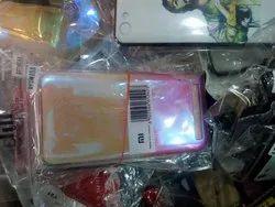 Mi Pink Colour Mobile Cover