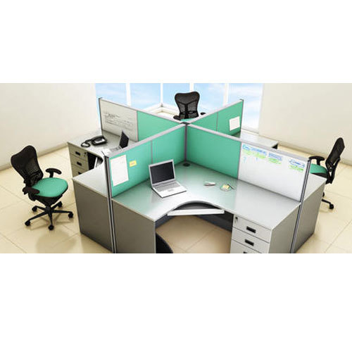 Wooden Modular Office Furniture Rs 3000 Square Feet M S Interior