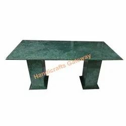 Plain Green Marble Table