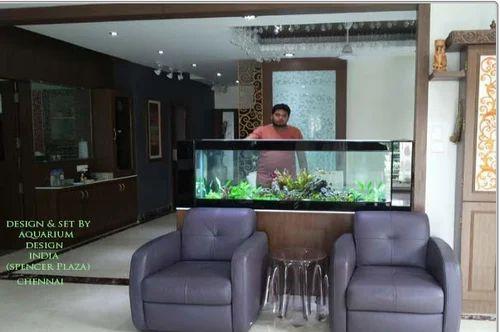 See Through Aquarium À¤— À¤² À¤¸ À¤…क À¤µ À¤° À¤¯à¤® À¤¸ In Chennai Aquarium Design India Id 17655660112