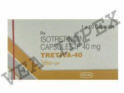 Tretiva 40mg Isotretinoin Capsules