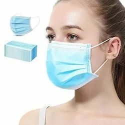 Shieldcare Disposable Face Mask, Number of Layers: 3 Ply