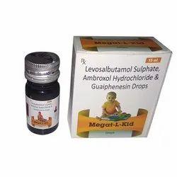 Levosalbutamol Sulphate, Ambroxol Hydrochloride & Guaiphensin Drops