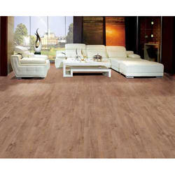 Brown Rectangular PVC Flooring, For Multi Purpose