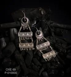 Oxidized Earrings OXE 69