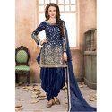 Unstitched Designer Party Wear Punjabi Suit