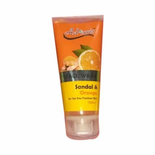Adorris Sandal and Orange Face Wash