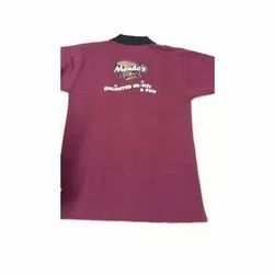Mens Printed Promotional Cotton T-Shirt, Size: S-xxl