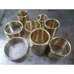 Round Brass Bush