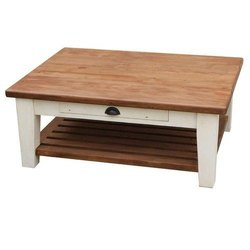 G Ten Plb Wooden Coffee Table, Size: 30x18 Inch
