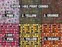 Rayon 14KG Print Fabric