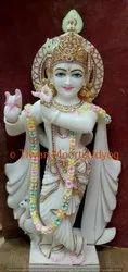 Marble  Iskcon Krishna Statue
