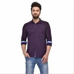 Checked Mens Fashion Shirt