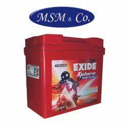 Capacity: 5 Ah Exide Xplore 12XL5L-B Bike Battery
