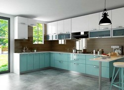 L Shape Modular Kitchen Design