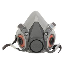3M Half Face Mask Respirator, 6200, Medium