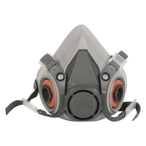 Medium Respirator Face Mask Half 6200 3m