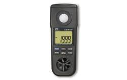 LUTRON - 4 in 1 Anemometer, Humidity meter Light Meter, Thermometer METER - Model No - LM-8100
