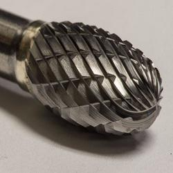 Tungsten Carbide Burr Ball Shape Type D - 25.0 x 22.0 x 8mm shank