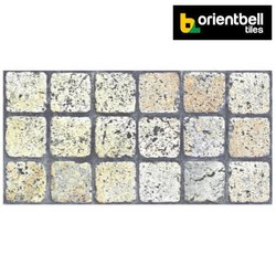 Orientbell ODM Bonito Grey LT Matte Ceramic Wall Tiles, Size: 300x600 mm