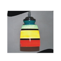 Glass Long Hanging Lantern With More Colors