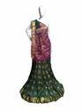 Jacquard Silk Bandhej Saree